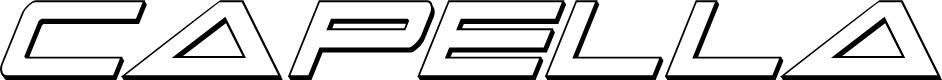 Preview image for Capella 3D Condensed Italic