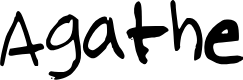Preview image for Agathe Font
