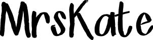 Preview image for MrsKate Font