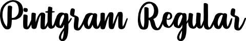 Preview image for Pintgram Regular