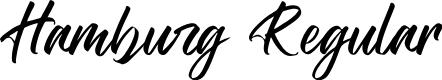 Preview image for Hamburg Regular Font