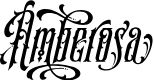Preview image for S&SAmberosaDemo Font