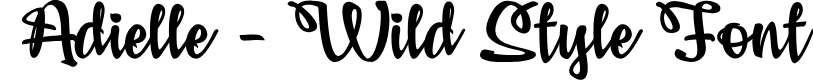 Preview image for Adielle PERSONAL USE ONLY Font