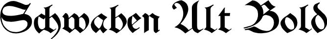 Preview image for Schwaben Alt Bold Font