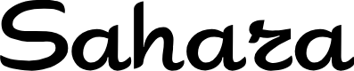 Preview image for Sahara Font
