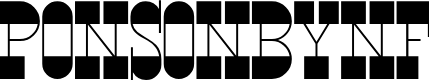 Preview image for PonsonbyNF Font