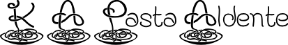 KAPastaAldente font