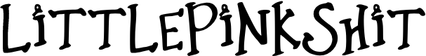 Preview image for Little_Pink_Shit Font