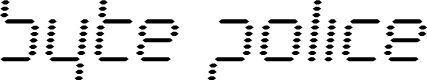 Preview image for Byte Police Semi-Italic