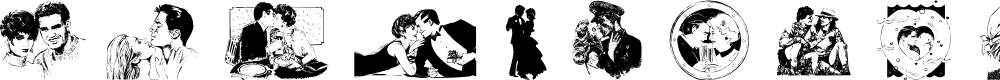 Preview image for Isn't it Romantic Font