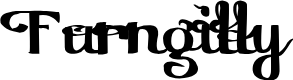 Preview image for Furngilly Font