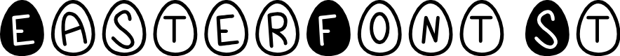 Preview image for EasterFont St Font