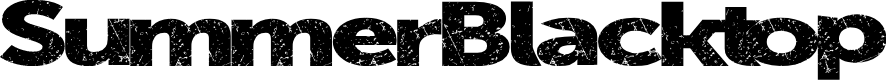 Preview image for SummerBlacktop Font