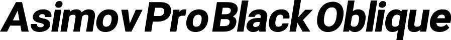 Preview image for Asimov Pro Black Oblique