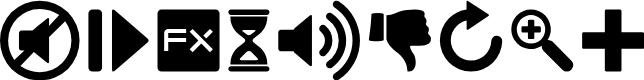 Preview image for Guifx v2 Transports Font