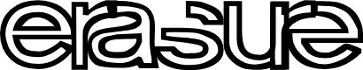 Preview image for Erasure Regular Font
