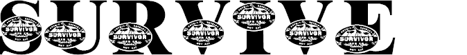 Preview image for LMS Survive Africa Font