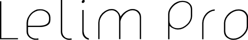 Preview image for lelim 200 Font
