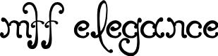 Preview image for MTF Elegance Font
