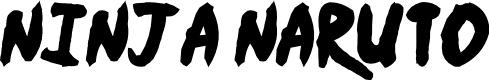 Preview image for Ninja Naruto Font