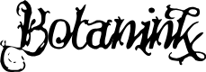 Preview image for Botanink Font