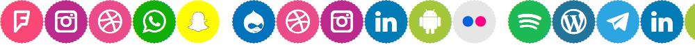 Icons Social Media 9