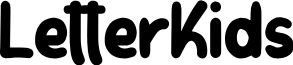 LetterKids font