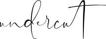 Preview image for Undercut Font