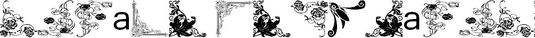 Preview image for Vintage Decorative Corners 14 Font