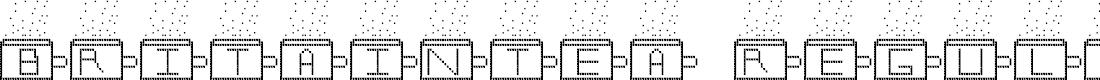 Preview image for BritainTea Regular Font