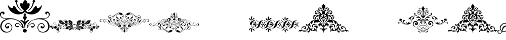 Preview image for Vintage Decorative Signs 17 Font
