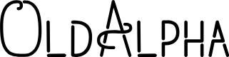 Preview image for OldAlpha Font