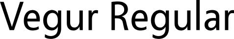 Preview image for Vegur Font