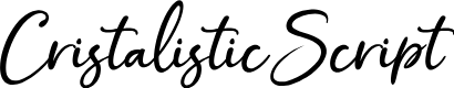Preview image for CristalisticScript Font
