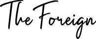 Preview image for The Foreign Font