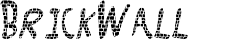 Preview image for Brick_Wall Font