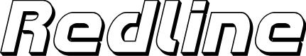 Preview image for Redline 3D Italic