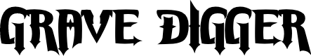 Preview image for Grave Digger Font