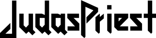 Preview image for JudasPriest Font