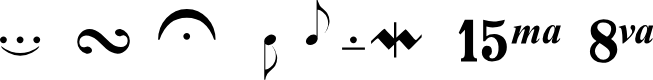 Preview image for DVMarticulations Font