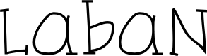 Preview image for Laban Font