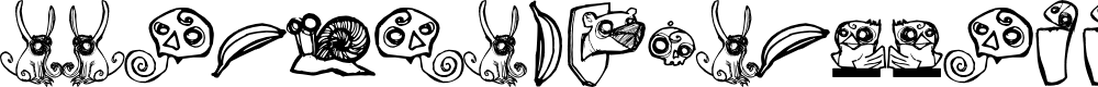Preview image for ABOMINAL SAMUTOJJ aim Font
