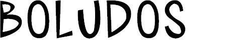 Preview image for BOLUDOS Font