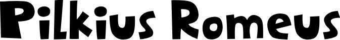 Preview image for Pilkius Romeus Font