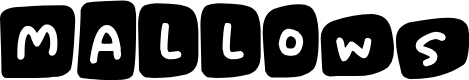 Preview image for Marshmallows Font