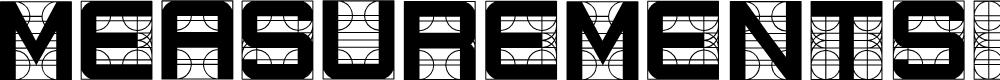 Preview image for Measurements Regular Font