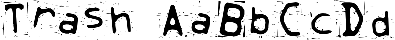 Preview image for Trash Font