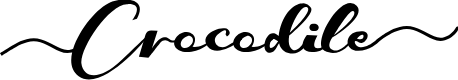 Preview image for Crocodile Font