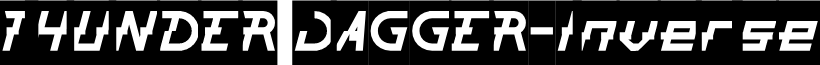 THUNDER JAGGER-Inverse