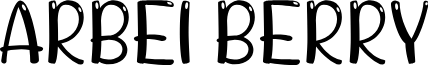 ARBEI BERRY font